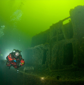 baltic wreck diving