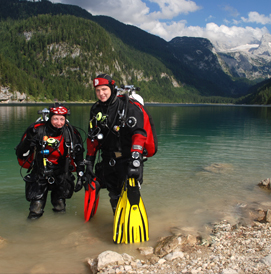 dry suit diving course